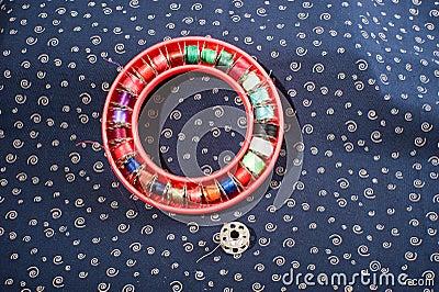 Circle of thread