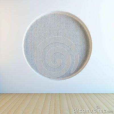 Circle wall