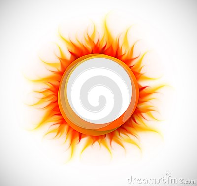 Free Circle With Flame Stock Images - 29592974