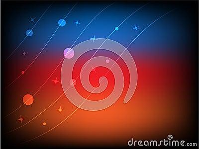 Circles, Lines and Stars