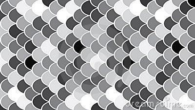 Circles modern art pattern