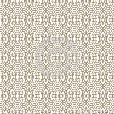 Circles net seamless  pattern