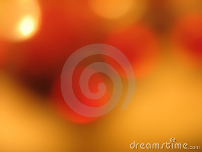 Circles of orange and gold 2
