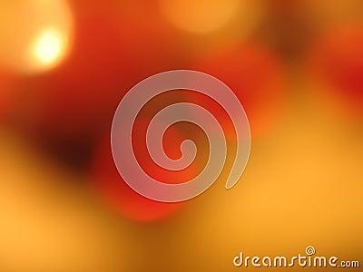 Circles of orange and gold 2