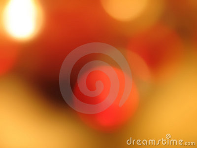 Circles of orange and gold