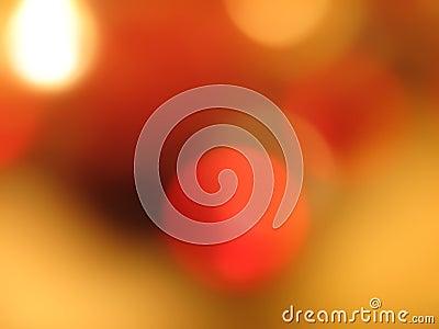 Circles of orange and gold