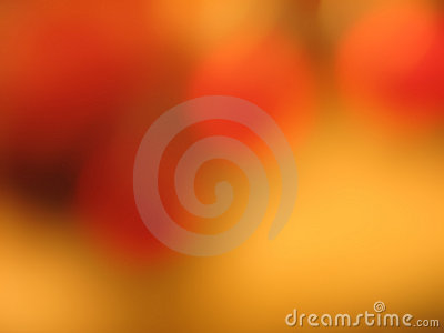 Circles of orange with gold background