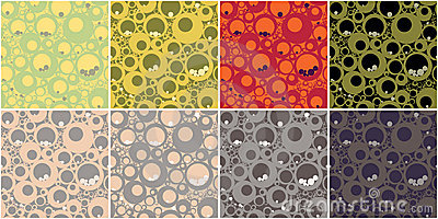 Circles Seamless Pattern v.2