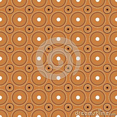Circles seamless pattern,vector