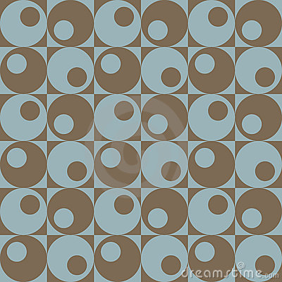 Circles In Squares_Blue-Brown