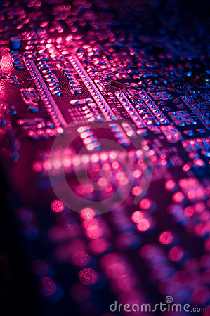 Free Circuit Board 02 Royalty Free Stock Photo - 2154445