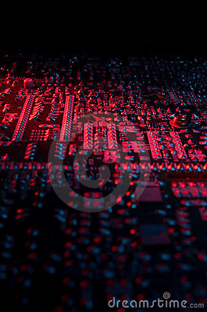 Free Circuit Board 03 Royalty Free Stock Images - 2154399