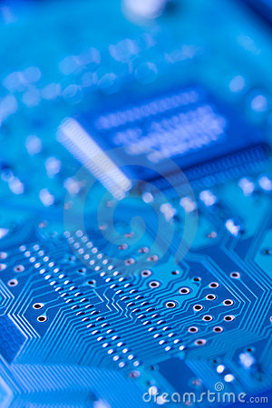 Free Circuit Board Royalty Free Stock Photo - 14471325