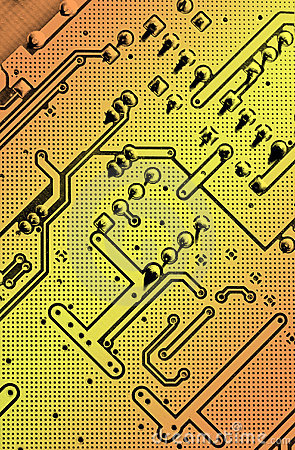 Free Circuit Board Royalty Free Stock Images - 2820559