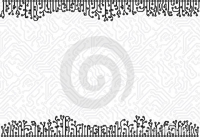 Circuit board background vector eps8