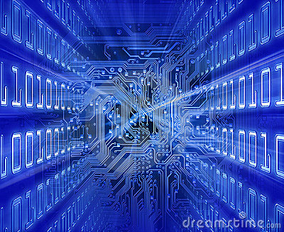 Circuit board (blue energy).