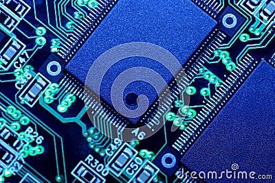 Circuit Board - Extreme Macro