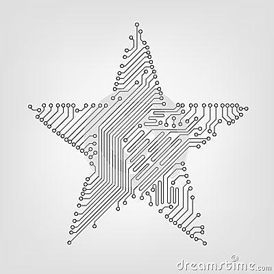 Circuit board star