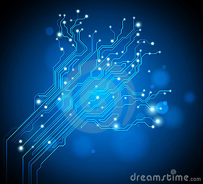 Free Circuit Board Tree Background Stock Image - 20243761