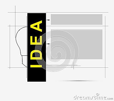 Circuit bulb technology idea business background