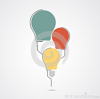Circuit Bulb Technology Idea Business Background Stock