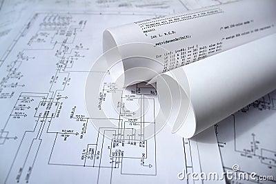 Circuit diagram and software