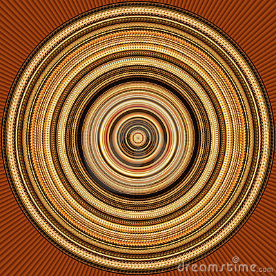 Circular Background / Abstract