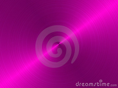 Circular brushed metal - pink