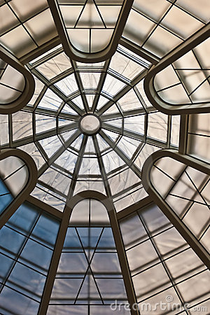 Circular Ceiling Pattern