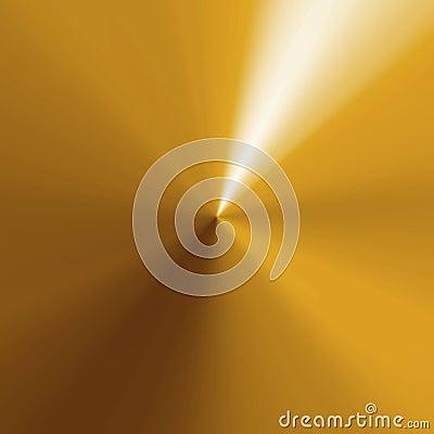 Circular Gold Texture