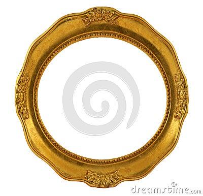 Free Circular Golden Frame Stock Photos - 1769243