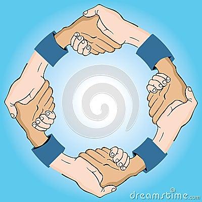 Circular Handshake