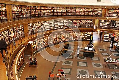 Circular library Editorial Photography