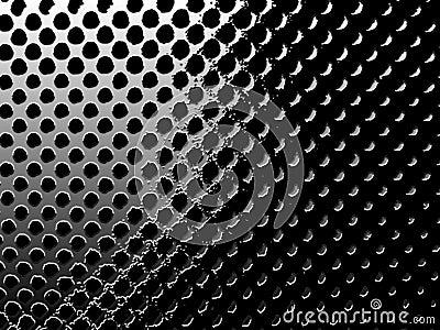 Circular mesh