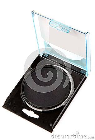 Circular polarizing lens filter