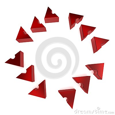 Circular Process Arrows