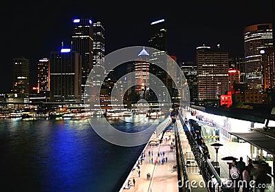 Circular Quay, Sydney, Australia Editorial Photography