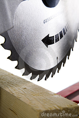 Free Circular Saw Blade Royalty Free Stock Photography - 3999417