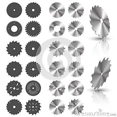 Free Circular Saw Blades Royalty Free Stock Images - 63021899