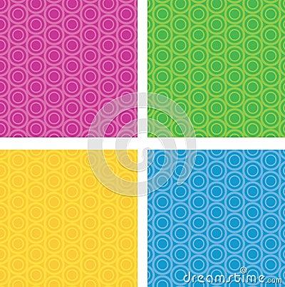 Free Circular Seamless Pattern Stock Image - 50047051