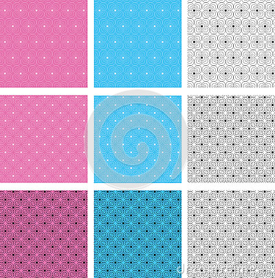 Free Circular Seamless Pattern Stock Photography - 50087002