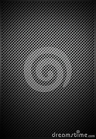 Circular slit metal texture mesh pattern