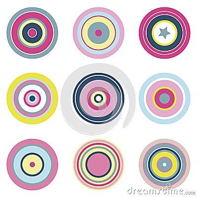 Circular Vector Elements