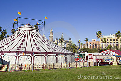 Circus Editorial Image