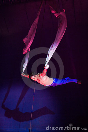Circus acrobat artist Editorial Photography