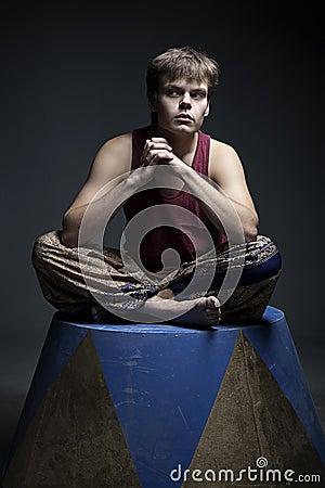 Circus actor