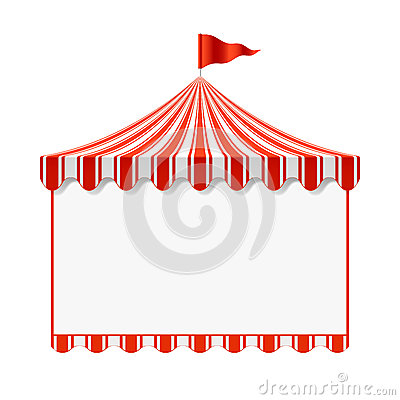 Free Circus Advertisement Background Royalty Free Stock Photos - 25047848