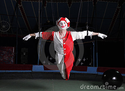 Circus air acrobat