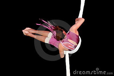 Circus artist Editorial Stock Image