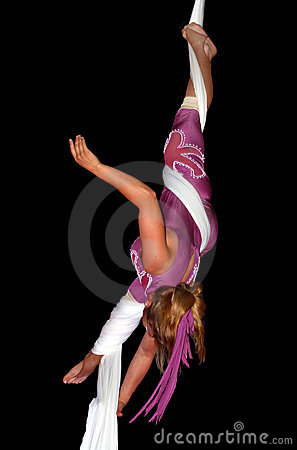 Circus artist Editorial Stock Photo